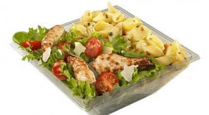 Domino's pizza - La salade caesar