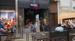 Waffle factory - La façade du restaurant