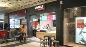 Waffle factory - La salle de restauration