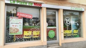 La Pizza de Nico - La façade du restaurant