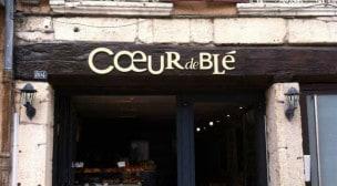 Coeur de blé - La façade du restaurant