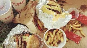 Five Guys - Formules burgers