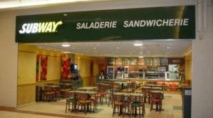 Subway - la façade