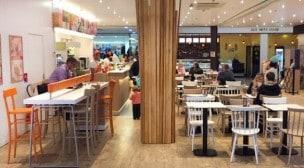 La Croissanterie - La salle de restauration