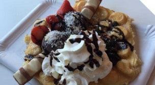 Fête à Crêpe - Une crêpe dessert