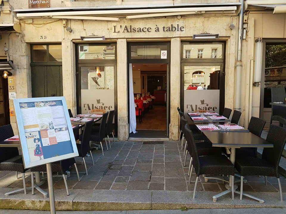 L Alsace A Table A Nancy Carte Menu Et Photos