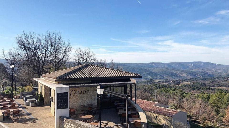 La Calade à Blauvac, carte-menu et photos