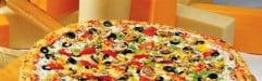 Maxi Pizza - Une pizza