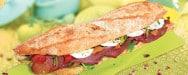 La Croissanterie - un sandwich
