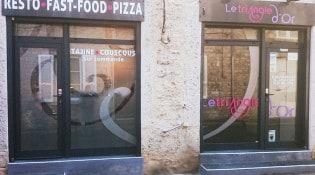 Le triangle d'Or - la façade