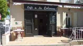 Le Café de la Colonne - La façade du restaurant
