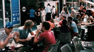 Bagel corner - La terrasse