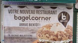 Bagel corner - Le restaurant