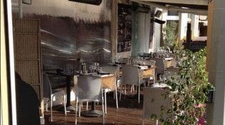 Brasserie du Col - la terrasse