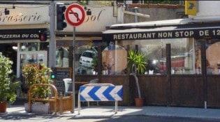 Brasserie du Col - la façade