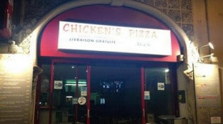 Chicken's Pizza - La pizzeria
