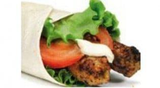 Chicken Spot - Le seekh wrap
