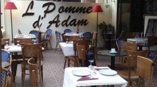 La Pomme d' Adam - La terrasse