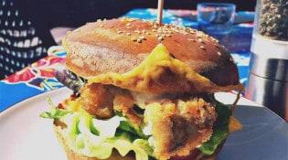 Le Pont Chauzon - Un burger