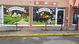 La Fromagerie - La façade du restaurant