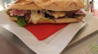 La Fromagerie - Un sandwiche