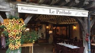 Le Prelude - La façade du restaurant