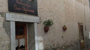Chez Cécile - La façade du restaurant