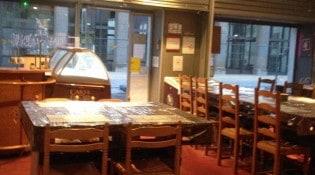 Le Palais du Burger - La salle de restauration