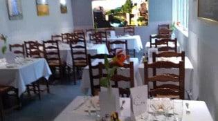 Hotel restaurant du pont-vieux - la salle