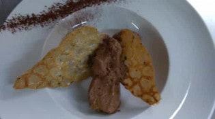 Hotel restaurant du pont-vieux - une assiette
