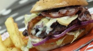 Frisco - Un burger et frites