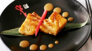 Sumo - Filet de cabillaud black, sauce miso saikyō et yuzu