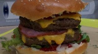 Le Cigalou - Un burger