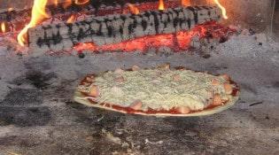 La grange aux pizzas - Pizza au four