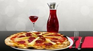 Le 3 place d'Aunis - Une pizza