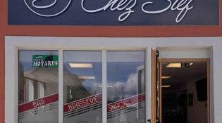 Chez Stef - La façade du restaurant