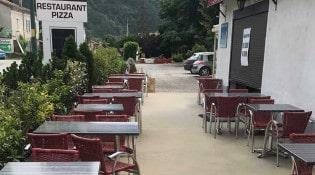 Le café de la clairette - La terrasse