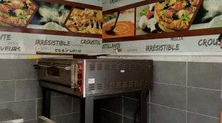 Délices Pizza - Le comptoir