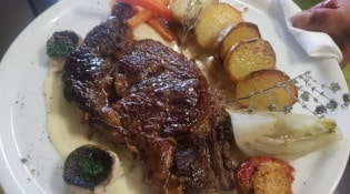 Restaurant Le Mas - Un plat