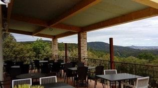 Restaurant Le Mas - La terrasse