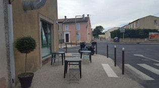 Le Gallia Pizza - La terrasse