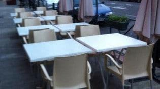 Brasserie Marie - La terrasse