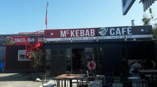 Mc Kebab Café - La façade du restaurant