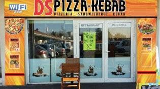 DS Pizzeria Kebab - La façade du restaurant