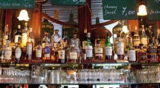 Café Brun - Le bar