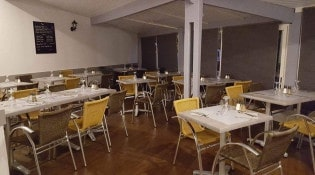 La Cuenta - La salle de restauration