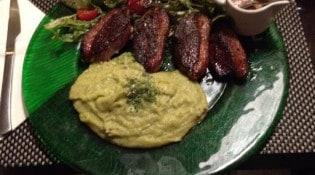 Le Bouffard Café - Un plat à base de viande