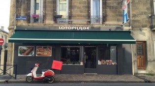 Lotophage - La façade du restaurant