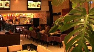 Simeone Dell'Arte - L'intérieur du restaurant