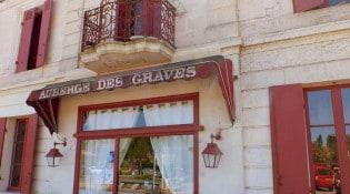 Auberge des graves - La façade du restaurant